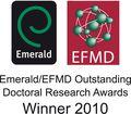 Emerald EFMD winner 2010